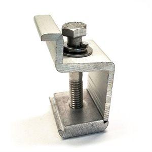 Attache pour extrémités de panneaux - 35 mm