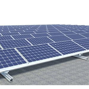 Support sur rail pour panneaux solaires de 72 cellules Sunrail de OpSun