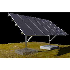 Support sur pied pour panneaux solaires de 60 cellules SunGround de OpSun
