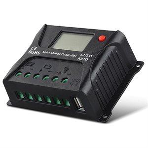 Régulateur solaire HP2410 PWM - 10A