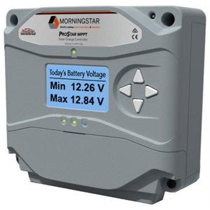 Régulateur MPPT ProStar 120 / 40 de MorningStar avec écran
